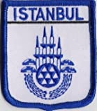 Aufnäher mit Wappen von Istanbul, Türkei bestickt