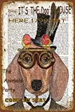 Straßenschild, Zeitungskunst, Metall, für Garage, Club, Bar, Diner Familie, Bauernhaus, Dekoration, 20,3 x 94,4