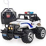 HTD Hochgeschwindigkeits-RC-Offroad-Spielzeugauto Kind, das ferngesteuertes Driftauto auflädt 4WD Monster Police Truck 2,4 GHz Elektrorennsport Kinder Erwachsene Hobby-Spielzeug