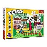 Trefl, Puzzle, Spielende Katze, 24 Maxiteile, Media Rodzina Kicia Kocia, für Kinder ab 3 Jahren