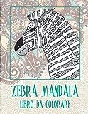 Zebra Mandala - Libro da colorare 🦓