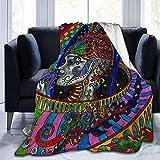 Plüsch Throw Velvet Decke Hippie Arabesque Thermal Fleece Teppich Wohnzimmer Tagesdecke für Kinder Gemütliche Schlafmatte Pad Flanell Abdeckung für den Herbst