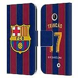 Head Case Designs Offiziell Zugelassen FC Barcelona Trincão 2020/21 Spieler Home Kit Gruppe 2 Leder Brieftaschen Handyhülle Hülle Huelle kompatibel mit Nokia Lumia 630