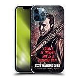 Head Case Designs Offizielle AMC The Walking Dead Lucille Vampir Fledermaus Negan Soft Gel Handyhülle Hülle Huelle kompatibel mit Apple iPhone 12 / iPhone 12 Pro