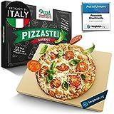 Pizza Divertimento - [Das Original - Pizzastein für Backofen & Gasgrill – Vergleich.org ausgezeichnet - Pizza Stein aus Cordierit bis 900 °C – Für knusprigen Boden & saftigen Belag