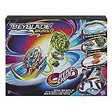 Hasbro E7609EU4 Burst Original Rise Hypersphere Vertical Drop Battle Set – Komplettes Set mit Beystadium-Arena, 2 Battle Kreisel Spielzeugen und 2 Startern