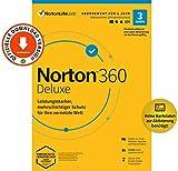 Norton 360 Deluxe 2021   3 Geräte   Antivirus   Unlimited Secure VPN & Passwort-Manager   1 Jahr   PC, Mac oder Mobilgerät   Aktivierungscode per Email