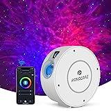 Panacare Alexa Sternenhimmel Projektor, WiFi Galaxy Sternenlicht WLAN LED Projektor mit App-Steuerung/Timer/Alexa/Google Home Sprachsteuerung, Sternprojektor Nachlicht für Party Kinder Geschenk