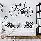 MONEYN Fahrrad-Aufhänger, Wandhalterung, Fahrradhalterung, Wandhaken, aufklappbar, für Garage, 1 Stück