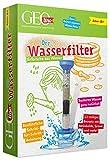 Franzis GEOlino Der Wasserfilter | Erforsche Regenwasser, Quellwasser und mehr | 13-teiliges Experimentierset mit ausführlicher Anleitung | Ab 8 Jahren