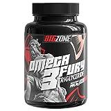 Big Zone Omega 3 Fury Triglyceride Hochwertige Triglycerid Form Keine Zugabe von Vitamin E 500mg EPA 250mg DHA / pro Kapsel | 120 Kapseln