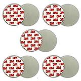 5X Magnethalter Rauchmelder   Magnethalterung Magnetbefestigung Magnet Halterung