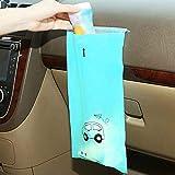 OYPY 50pcs Auto-Abfallbeutel Einweg-Self-Adhesive Auto Biodegradable Trash Müll Halter Müllaufbewahrungstasche Vomit-Taschen Car Papierkorb