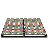 i-flair Lattenrost 180x200 cm Lattenrahmen Tellerlattenrost Flower Ergo IF57 - für alle Matratzen geeignet - alle Größen