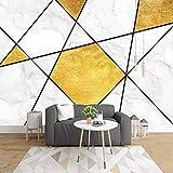 HGFHGD Selbstklebende Foto 3D Marmor Geometrische kreative Kunst Wandbild Schlafzimmer Wohnzimmer TV Hintergrund Wand Wohnkultur Tapete Wandaufkleber