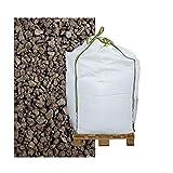 Hamann Lava-Mulch Rot 2-8 mm Big Bag 600 l - LAVASTEINE LAVAGRANULAT LAVAMULCH Mulch Lava