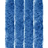Arsvita Flauschvorhang Türvorhang 56x185 cm in Blau - viele Variationen