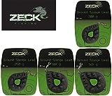 Zeck Fishing Ground Sponge Lead Wallerbleie, Gewichte zur Auswahl 200g bis 360g, Wallerzubehör, Welsbleie, Angelbleie, Gewicht:300g