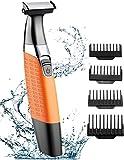 Cocoda Rasierer Elektrisch Nass/Trocken Haarschneidemaschine Bartschneider USB Wiederaufladbar Kabellos, Hybrid Präzisionstrimmer Körperhaartrimmer mit 4 Aufsatzkämmen Reinigungsbü