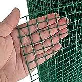 LFFH Draht-Mesh-Zaun, 30M Multipurpose-Netzzaun Mesh-Rolle 6 cm-Maschengröße 3Mm Drahtdurchmesser Für Gartenfarm, Hühnerschnitt, Balkon,Grün,1.5x30m
