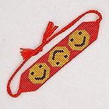N/A Armband Warp Armbänder Frauen Schmuck Mode Armband für Mädchen Kind Geschenk Boho Webstuhl Geflochtener Freundschaftsschmuck Weihnachts Geburtstagsgeschenk