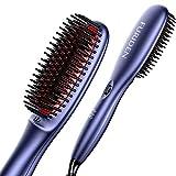 Glättbürste, FURIDEN Haarglätter Bürste, Glätteisen Bürste
