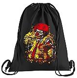 T-Shirt People Ronald Zombie Mc Clown Sportbeutel – Bedruckter Beutel – Eine schöne Sport-Tasche Beutel mit Kordeln