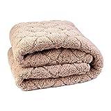 Elektrische Heizdecke WäRmeunterbett Elektrische Decke, elektrische Decke für Bett mit automatischer Abschaltung Überhitzungsschutz mit 6 Temperatureinstellungen, Home verwenden Sofa Nutzung Bü