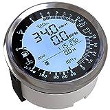 ELING Multifunktions GPS Tachometer Tachometer Stunde Wassertemperatur Kraftstoffstand Öldruck Voltmeter 12V 85mm Mit Hintergrundbeleuchtung