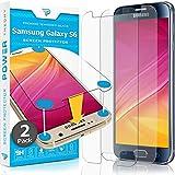 Power Theory Panzerglasfolie passend für Samsung Galaxy S6 (2 Stück) - 9H Panzerglas Folie, HD Displayschutzfolie/Panzerfolie, Tempered Glas Schutzglas, Schutzfolie Screen Protector G