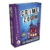 Asmodee Crime Zoom Fall 3: Ein tödlicher Autor, Familienspiel, Rätselspiel, Deutsch