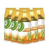 Air Wick Freshmatic Max Raumspray – Nachfüller für den Air Wick Freshmatic Max – Duft: Citrus – 6 x 250 ml Nachfüller