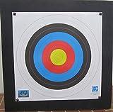 Franks-Castle Zielscheibe Bogenschiessen 80 x 80 x 10 bis 50lbs mit Auflage und Scheibennägeln