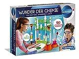 Clementoni 59187 Galileo Science – Wunder der Chemie, 180 Experimente für Zuhause, spannende Versuche, farbenfroher Experimentierkasten, Spielzeug für Kinder ab 8 Jahren