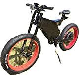 QS 15,000W Fat Mother Power Mountain Ebike 120km/h to Your Door Tax F
