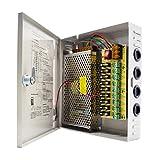 9 Kanal Netzteil Kasten für CCTV Kamera Videoüberwachung Leistungsnetzteil 12V DC10A 120W