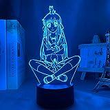 Anime-Lampe, 3D-LED-Obstkorb, Tohru für Schlafzimmer, Dekoration, Nachtlicht, Geburtstagsgeschenk, Kinderzimmer, Schreibtisch-Fernbedienung