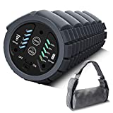 KINGFIT Vibrating Foam Roller, 5-Speed Electric Foam Roller for Muscle Recovery,16-65HZ, Deep Tissue Trigger Point Muscle Relaxing, Carry Bag, USB Cord Included(VF1)