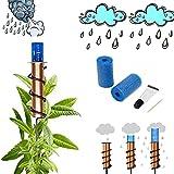 FONGDY Pluviometer,Dekorativer Regenmesser,Regenmesser Outdoor Dekoratives Kupfer, Rain Gauges,Genauer Schwimmender Regenmesser FüR Rasen