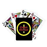 OFFbb-USA Hip Hop Music Keeps True Attention Provocation Poker Spielkarte Tischbrett Spiel