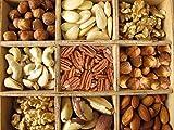 Nussmischung ohne Zusätze Nuss Mix Studentenfutter wiederverschließbar 250g-5kg (1000g)