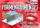 TFC Troll Factory Formbaurahmen I Modellbau Zubehör I Aluminum, variabel I Höhe 100 mm