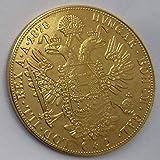 Chaenyu Österreichische Goldmünzen 1872-1915 19 Arten von Münzen kopieren vergoldete Gedenkmünzen Souvenirgeschenk-1878