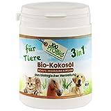 100ProBio Kokosöl für Tiere -zur Fellpflege und Nahrungsergänzung - ohne Chemie   Hund, Katze & Pferde   1er Pack (1 X 250ml)