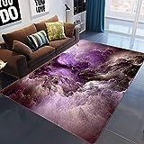 AOACD Abstrakt Fluffy Gebiet Teppiche Luxuxweinlese-Vorleger Anti-Skid Yoga Teppich zum Wohnzimmer und Schlafzimmer Big Fussboden Teppich,4,100X150CM