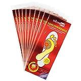 Thermopad Sohlen-Wärmer | kuschlig warme Fußwärmer | sofort einsatzbereit | 8 Stunden lang 37°C | einfache Anwendung wohltuender Wärme-Sohlen | selbstklebend | Größe L | 10