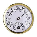 MERIGLARE Thermometer Hygrometer Analog Incubator Greenhouse Humidity Meter Accurate Car Household