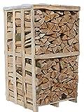 3 x 1,8RM Box Buche 33cm Brennholz trocken Kaminholz ofenfertig Holz Feuerholz Scheitholz Kaminfeuer Lagerfeuer Pizzaofen = ca. 6,5 Ster   Energie Kienbacher (3x1,8RM Box)