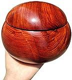 HYBUKDP Haustier Särge Hölzerne Urnen Be Applicable Compatible for Mensch und Haustier-Asche, Palisander Aufbewahrungs Memorial Urnen, bis zu 45kg, handgemachte