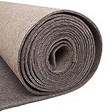 SYJH Teppich Draußen Prom Runner Teppich für Flur 5mm Dicker Grauer Teppichläufer Polyester-Gang-Runner für Party-Prom-Ereignis-Hochzeit(Size:1×10m(3×33ft),Color:grau)